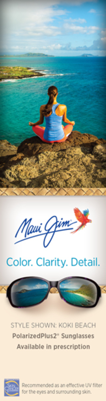 Maui Jim Eyeglasses Promotion