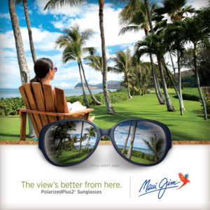 Maui Jim Advertisement